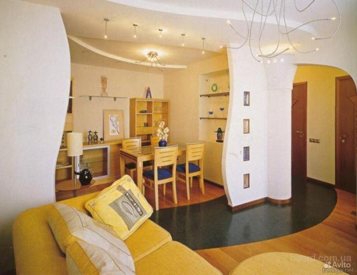 Гипсокартон в интерьере жилого помещения : шикарный дом.