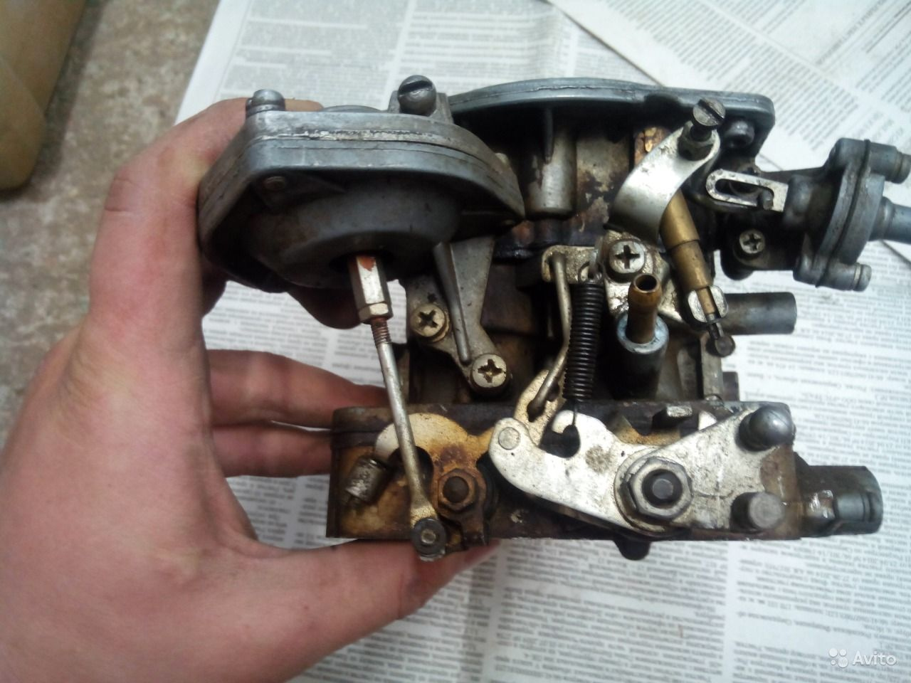 Как снять и провести ремонт карбюратора ДААЗ своими руками 82