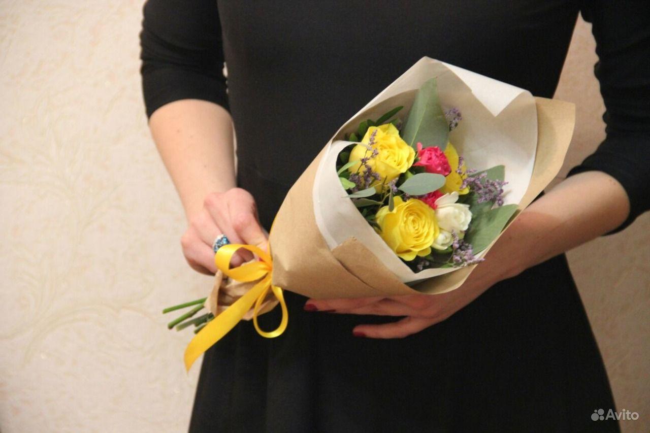 Как сделать букет из цветов своими руками мастер 65