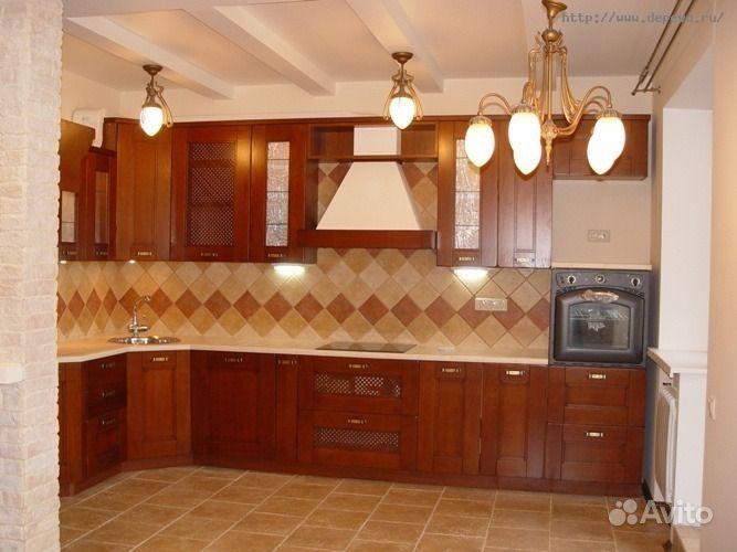 Ремонт кухни в доме  фото