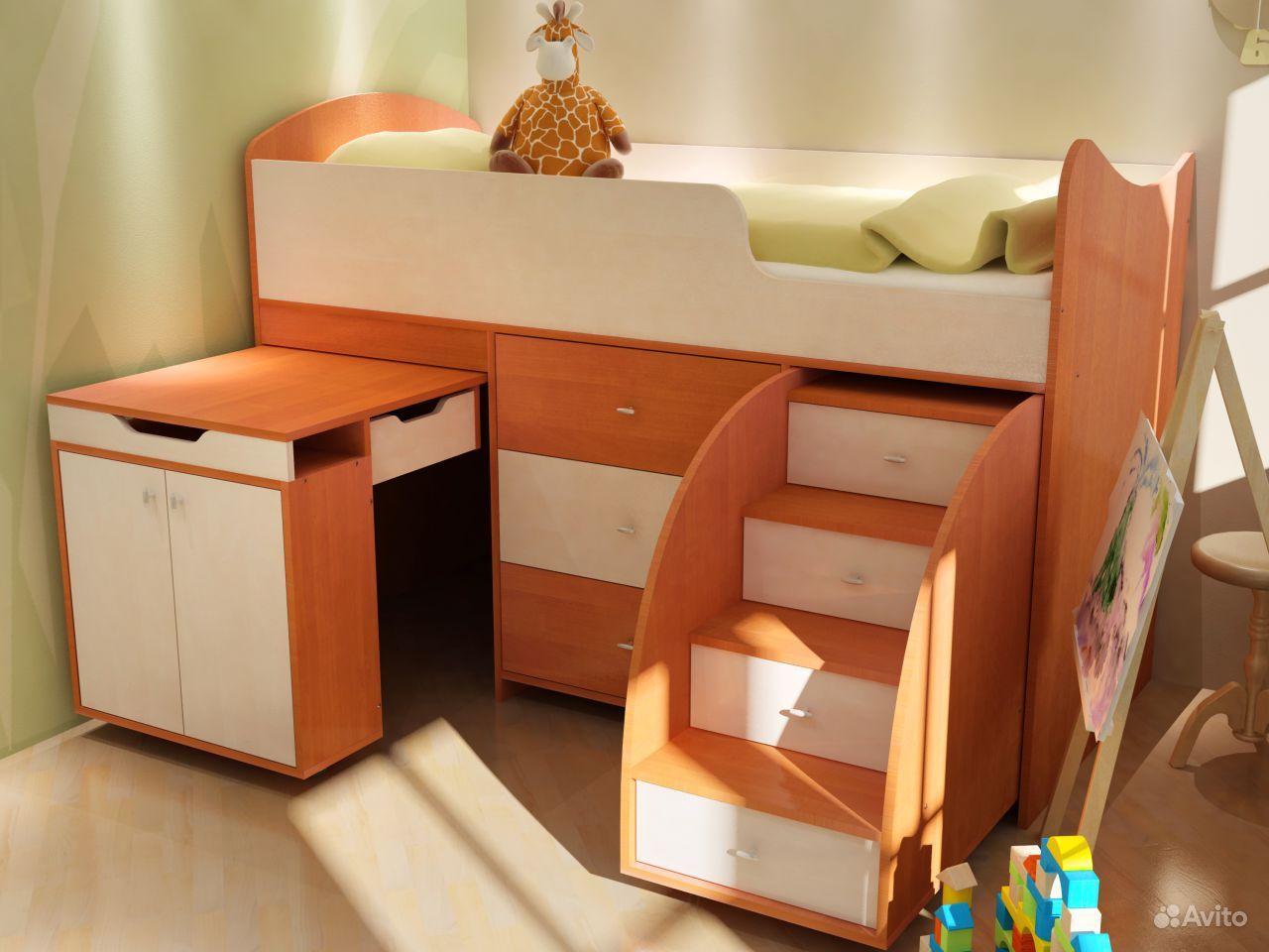 детские кровати из китая