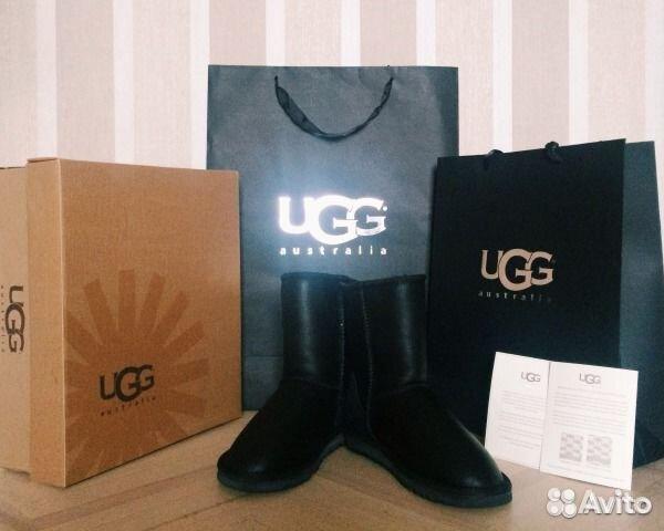 Угги кожаные обливные UGG Australia купить в Москве