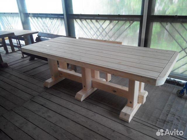 Столы для веранды своими руками