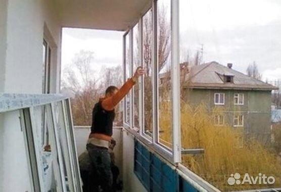 Установка рамы пвх на балкон своими руками