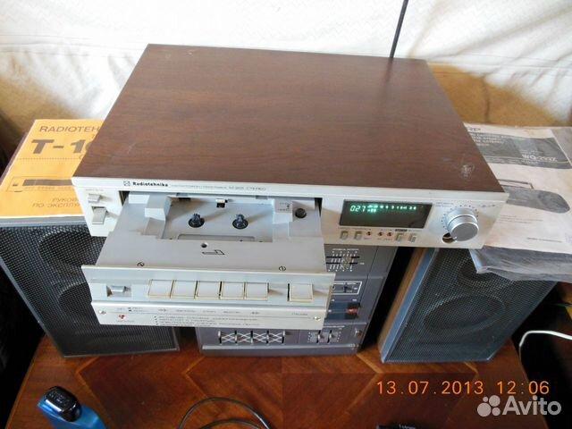 Магнитофон приставка радиотехника м-201 стерео.