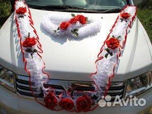 Украсить свадебную машину своими руками фото