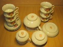 Чайный сервиз (г. Коростень, фарфор)