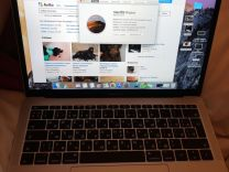 Apple MacBook Pro 13 late 2017 silver