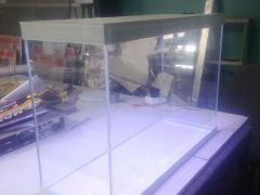 Новый аквариум 75 литров