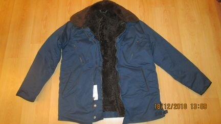 75f6dd646eb0 Куртка летная новая на меху(овчина) съемный верх