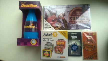 Набор коллекционных вещей Fallout объявление продам