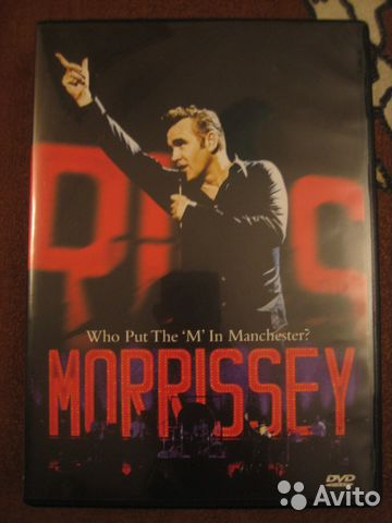 "DVD Morrissey Who Put The ""M"" In Manchester— фотография №1"
