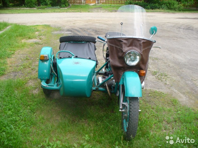 Продам мотоцикл урал м 67 36 пробег 19 000