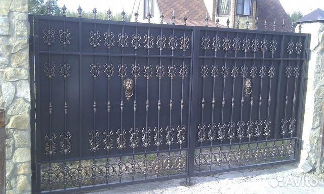 Распашные ворота в липецке комплекты для консольных сдвижных ворот в алматы