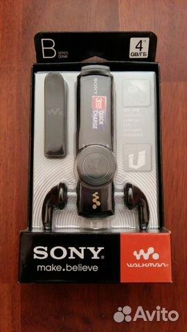 MP3-плеер Sony NWZ-B173F Black 4 Гб - купить mp3