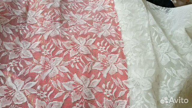 Купить гипюровую ткань на платье