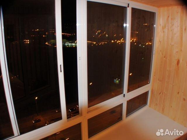 Окна для балкона алюминиевые, раздвижные 2.1 метра festima.r.