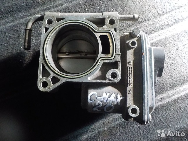 ford c-max 2.0 дроссельная заслонка