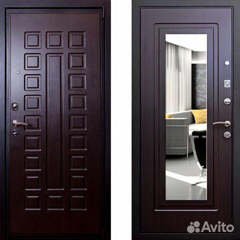 входные металлические двери внутри зеркало от производителя