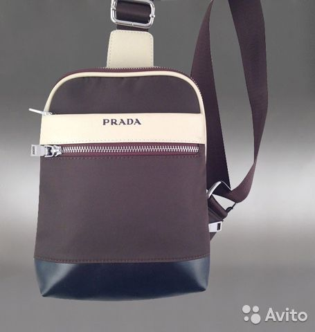 Сумка рюкзак через плечо Prada арт.2184 купить в Москве на Avito ... feecc60fe3e