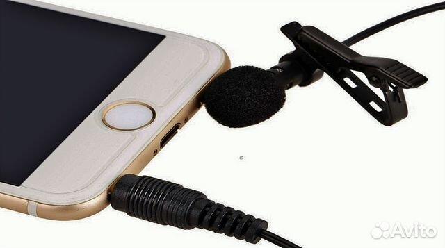Микрофон петличка для смартфонов и планшетов 89532864040 купить 1