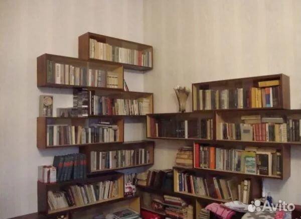 Полка книжная, навесная купить в калужской области на avito .