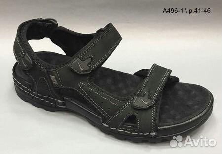 5f9bf1ad Nike сандалии мужские чёрные 496-1(41-46р.) | Festima.Ru ...