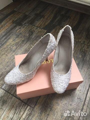 9aa3fb187 Свадебные туфли, 41 размер купить в Санкт-Петербурге на Avito ...