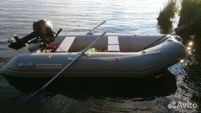 Лодка пвх с мотором 9.8 HDX