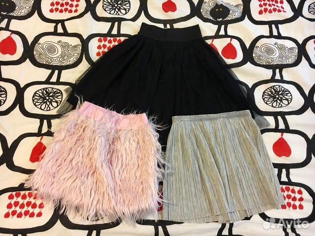 Купить юбку для девочки на авито