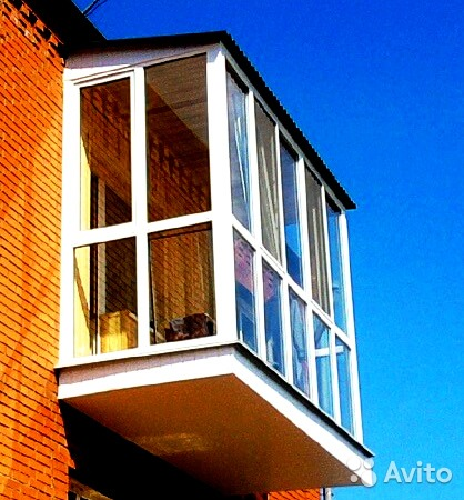 Услуги - балконы и лоджии под ключ опытные монтажники в рост.