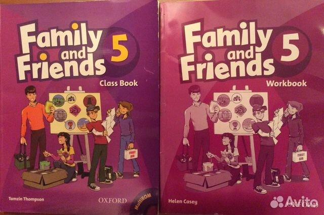 по английскому and friends 4 гдз учебник family