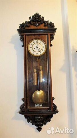 f83ee66b41989 Часы настенные старинные Gustav Becker 1920 г | Festima.Ru ...