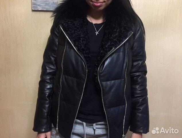 e71fc058c0d Зимняя кожаная куртка