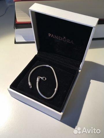 браслет Pandora серебро оригинал коробка купить в санкт