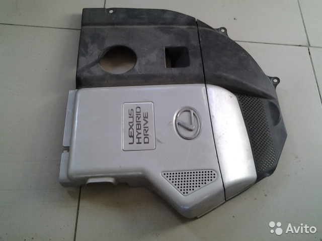 Накладка двигателя лексус RX-400.гибрид 2008г 89028799240 купить 1