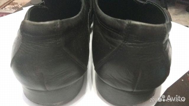 Туфли кожаные мужские 89301297093 купить 4