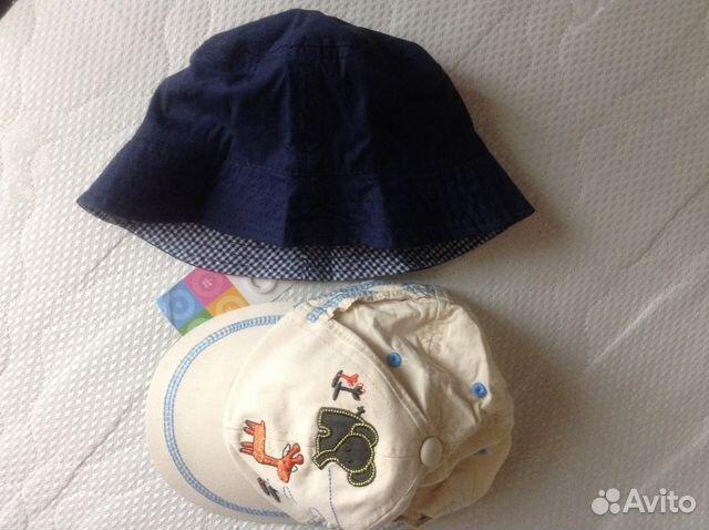 4876a52e226e2 Детские панамка и кепочка на лето р. 44-46 купить в Москве на Avito ...