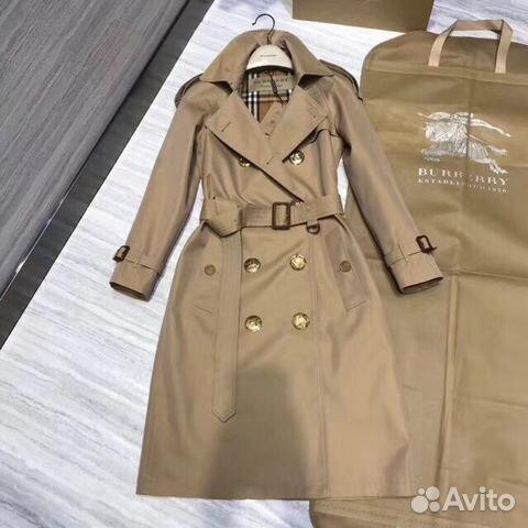 Пальто тренч Burberry люкс купить в Москве на Avito — Объявления на ... 0e05ccdea43