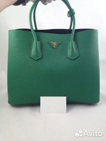 da21c4681f66 Женская кожаная сумка Prada арт.012-1 купить в Москве на Avito ...