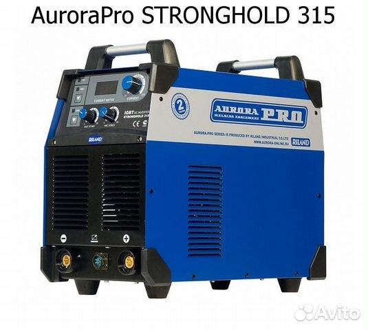 Сварочный инвертор AuroraPro stronghold 315 купить 3