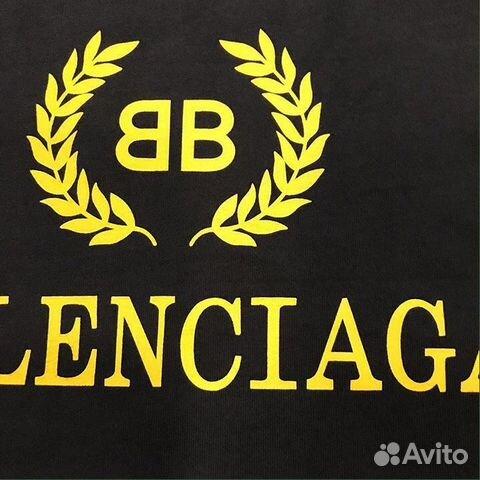 Футболка Balenciaga купить в Москве на Avito — Объявления на сайте Авито d112406739f
