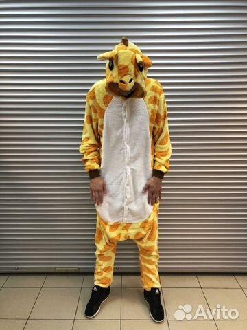 Кигуруми-пижама жираф L  858fb77f82783