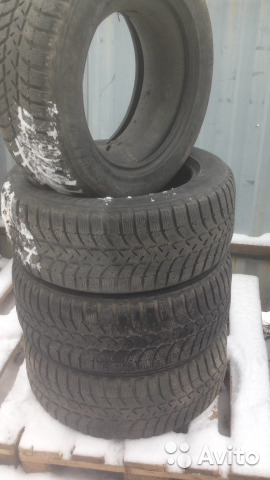 Продам резину Bridgestone Ice Cruiser 255/60/R-18— фотография №1