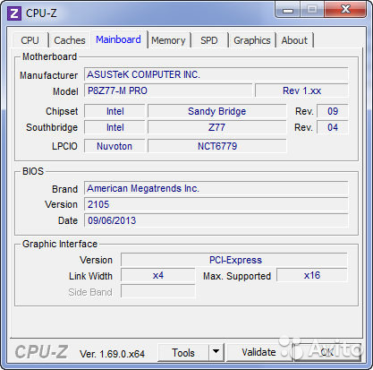 Asus P8Z77-V PRO BIOS 0906 Driver