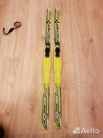 Беговые лыжи детские fischer 100— фотография №1. Адрес  Санкт-Петербург ... cc2fa5ced80