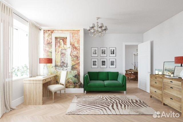 Продается пятикомнатная квартира за 49 500 000 рублей. Москва, улица Серафимовича, 2.