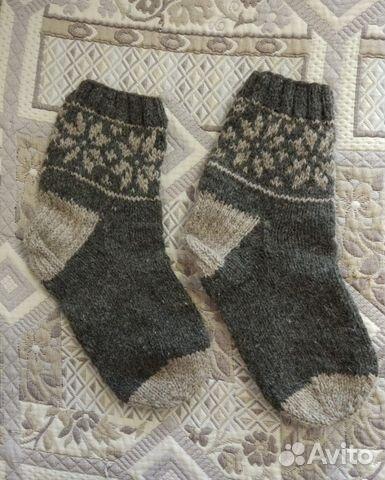dc39cdd1dcbf3 Вязаные носки шерстяные с рисунком купить в Свердловской области на ...