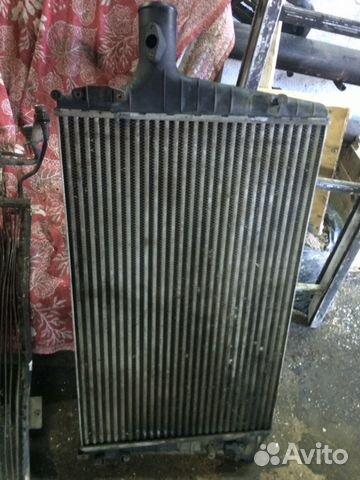 Радиатор кондиционера интеркулер 2,5 tdi