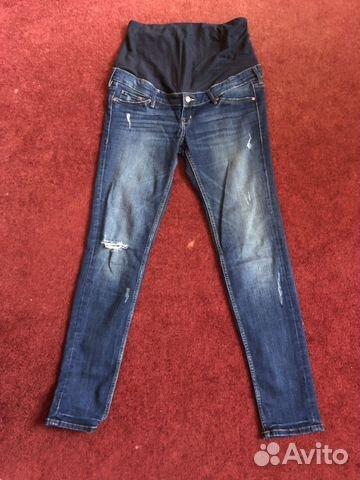 f377b579469f187 Джинсы для беременных H&M+брюки H&M купить в Москве на Avito ...